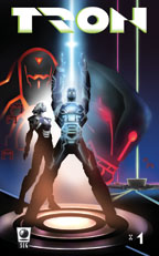 TRON comic book cover