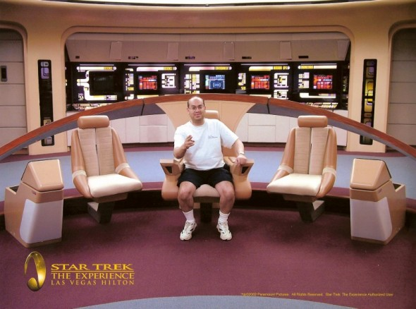 GeneD at the Star Trek Experience