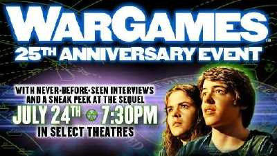 WarGames 25th anniversary event