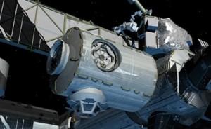 Node 3 of the International Space Station.  Image courtesy NASA.