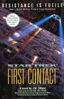 Star Trek First Contact book