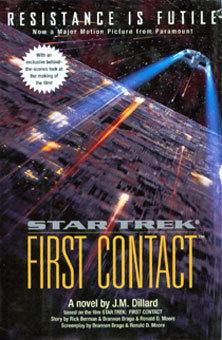 Star Trek First Contact book