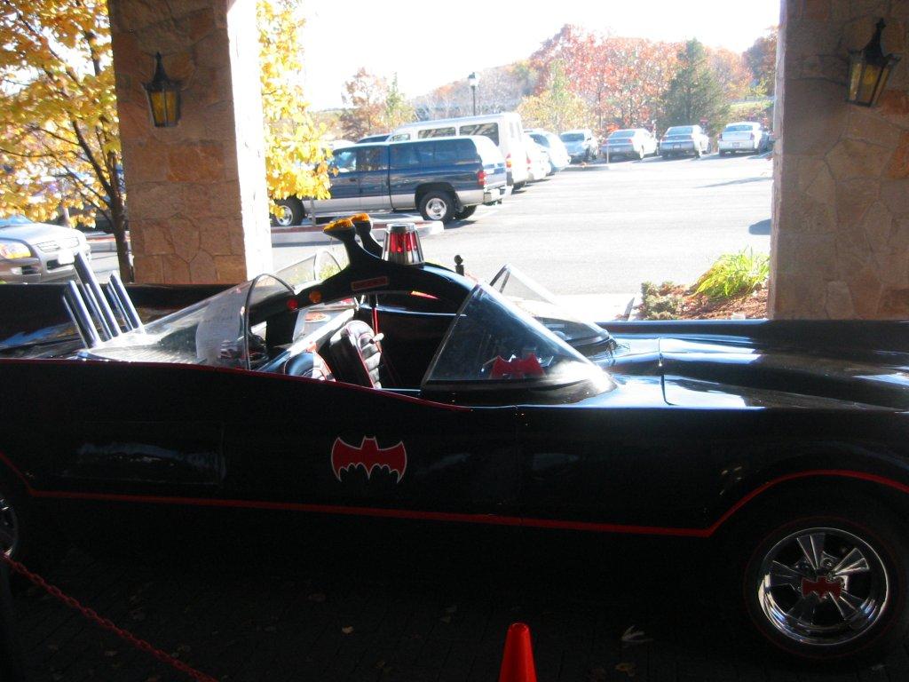 The Batmobile - side