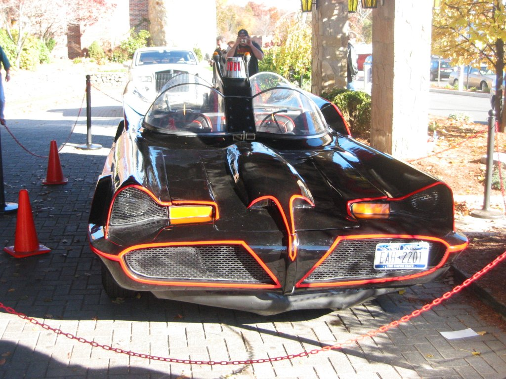 The Batmobile - front