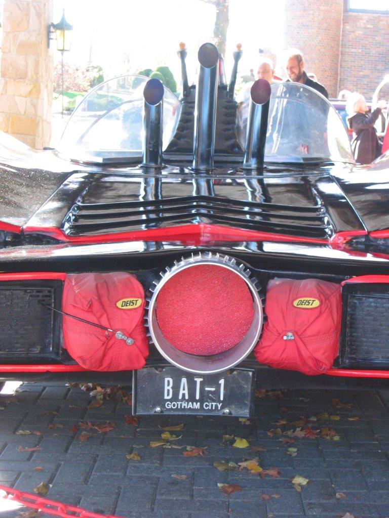 The Batmobile - rear